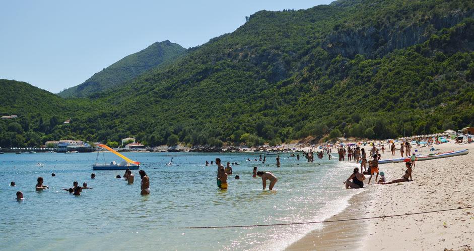 Beach in Arrabida Natural Park