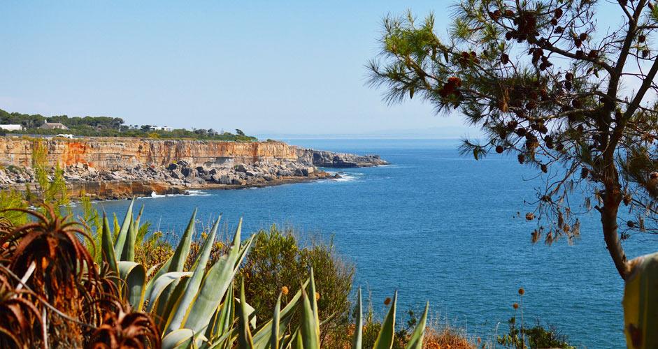 The coast of Cascais