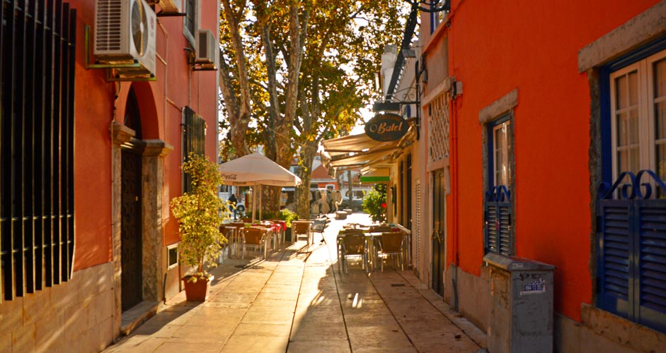 Old town of Cascais