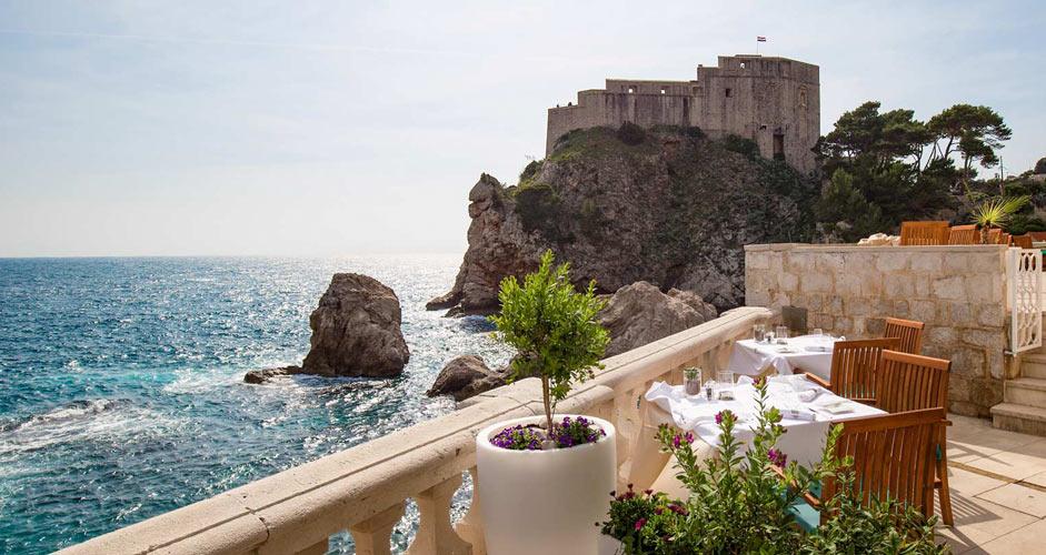 Lunch in Dubrovnik