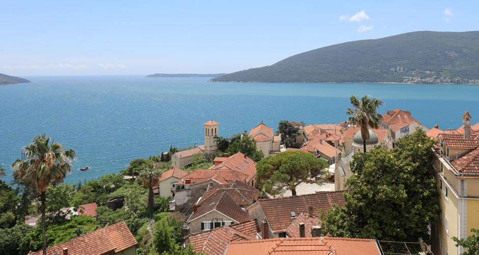 Old Town of Herceg Novi and the Bay of Kotor