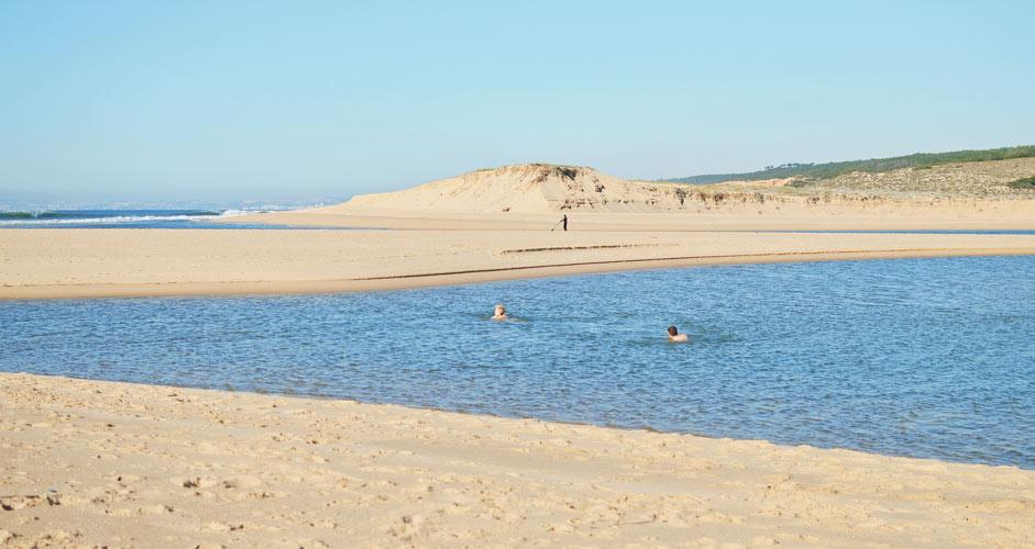 Lagoa de Albufeira, Sesimbra