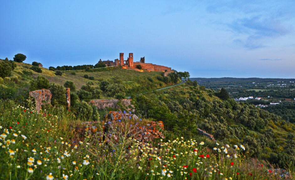 The castle of Montemor-o-Novo