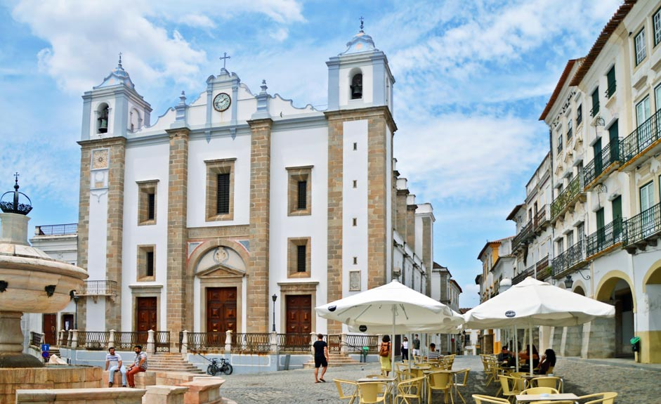 Praça do Giraldo in Evora