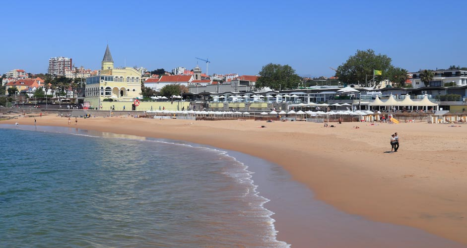 Praia do Tamariz in Estoril