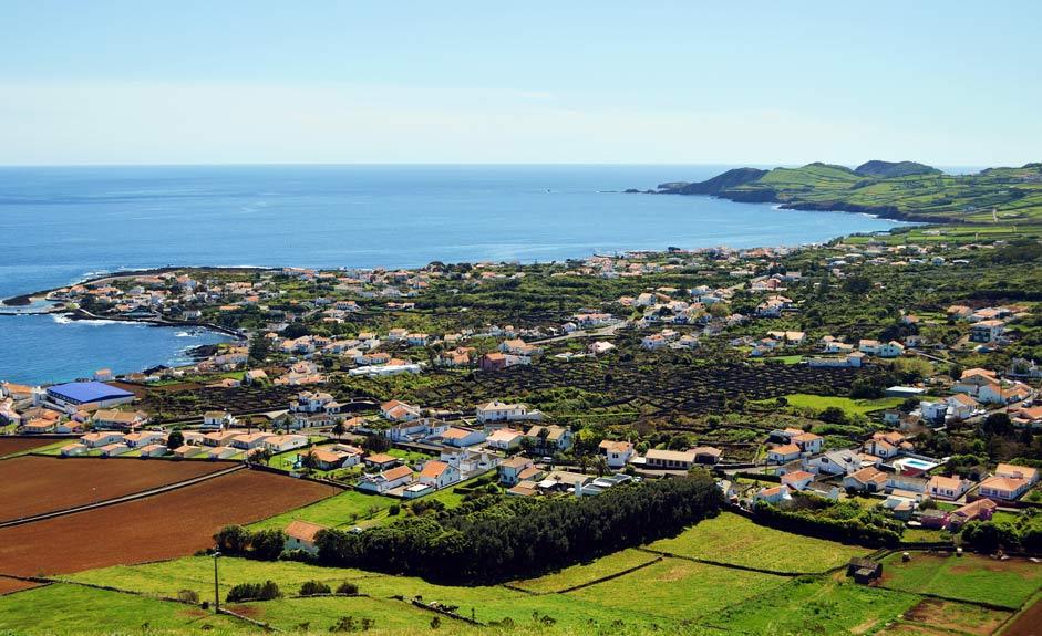 Porto Martins on Terceira island
