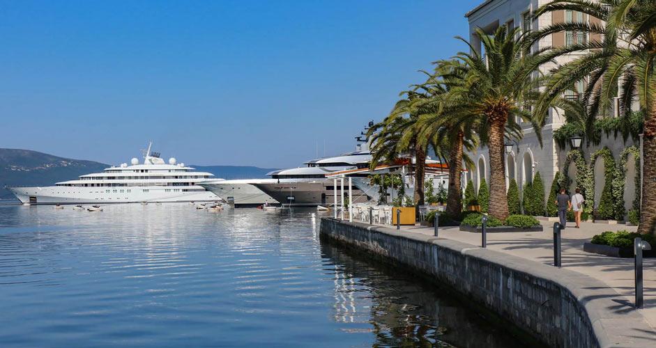 Porto Montenegro in Tivat