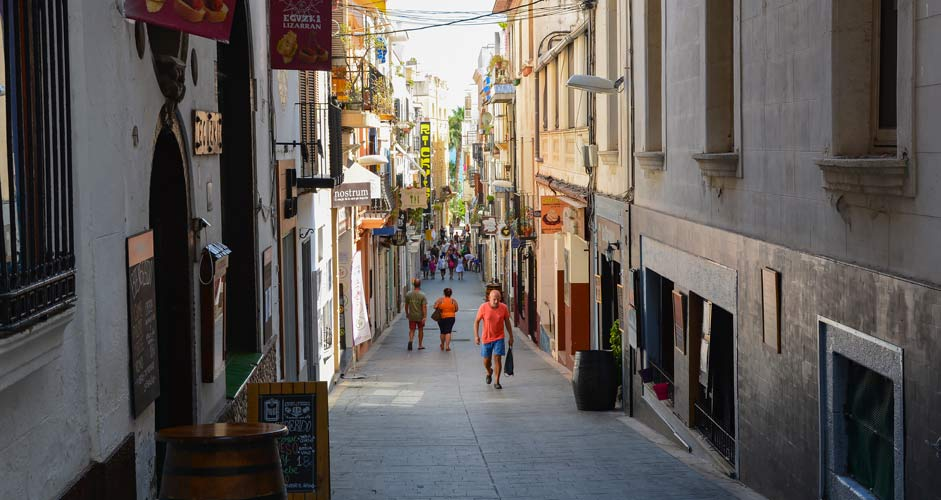Carrer de Sant Pau, Sitges
