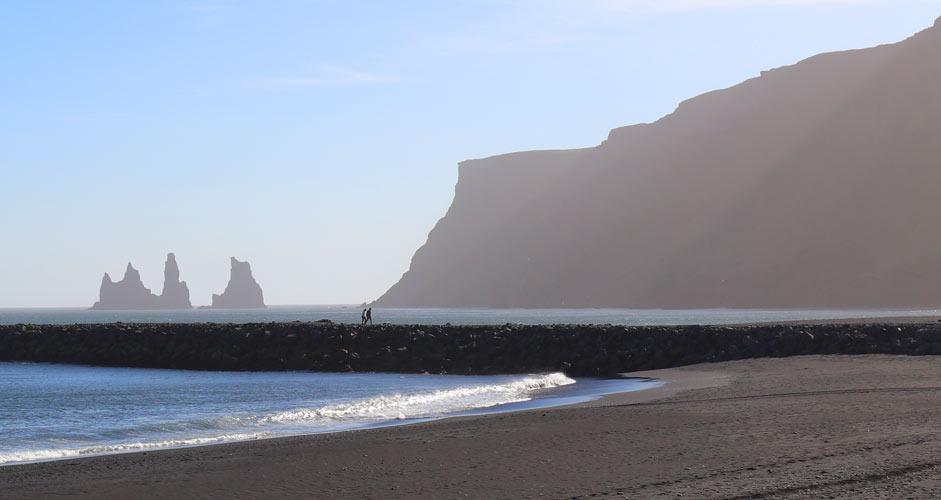 Reynisdrangar rocks in South Iceland