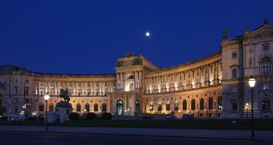 Neue Burg in Vienna